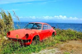 Abandoned Porsche 911 Turbo