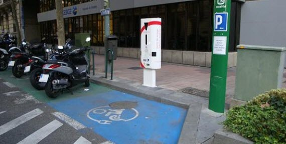 Renovación de los 24 puntos de recarga de vehículos eléctricos