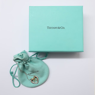 Tiffany & Co. 18K Gold and Sterling Silver Heart Pendant Necklace