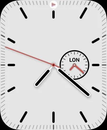 وجه ساعة جديد على Apple Watch.