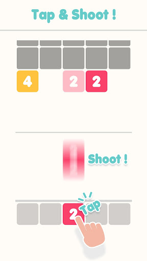 Shoot 2048 - reinvention of the classic puzzle 1.2.4 screenshots 1