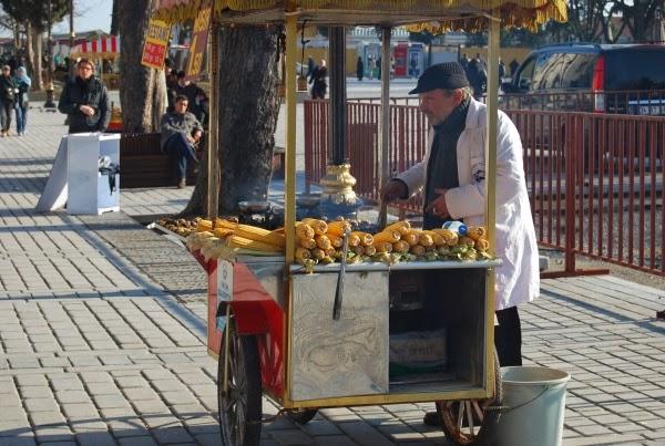 Misir - street corn. From Best Street Foods in Istanbul, Turkey