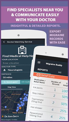 Migraine Buddy - The Migraine and Headache tracker 25.4.7 screenshots 8