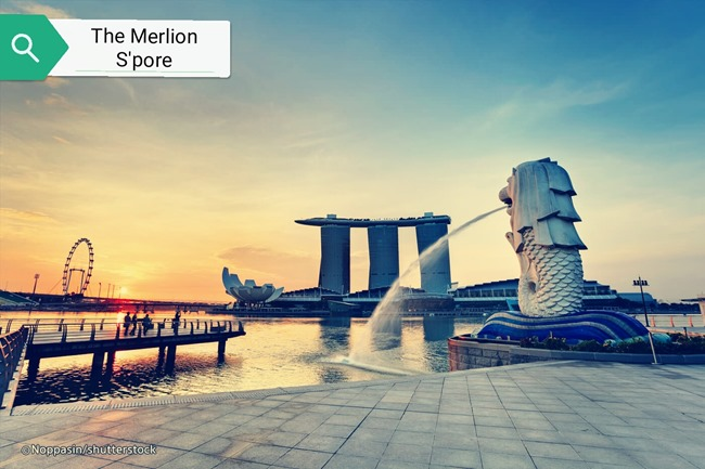 the merlion singapore
