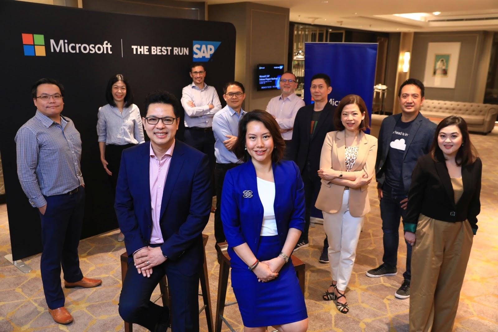 "Microsoft ผนึกกำลัง SAP ร่วมขับเคลื่อนธุรกิจไทย ให้เดินหน้าสู่ ""New Normal"""