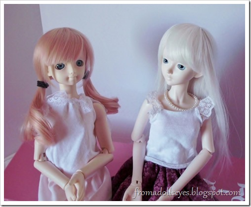 For My Doll Bjd Wig K-002 Review: Let's Switch Wigs!