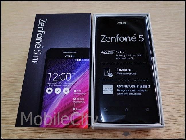 Mở hộp Asus Zenfone 5 LTE