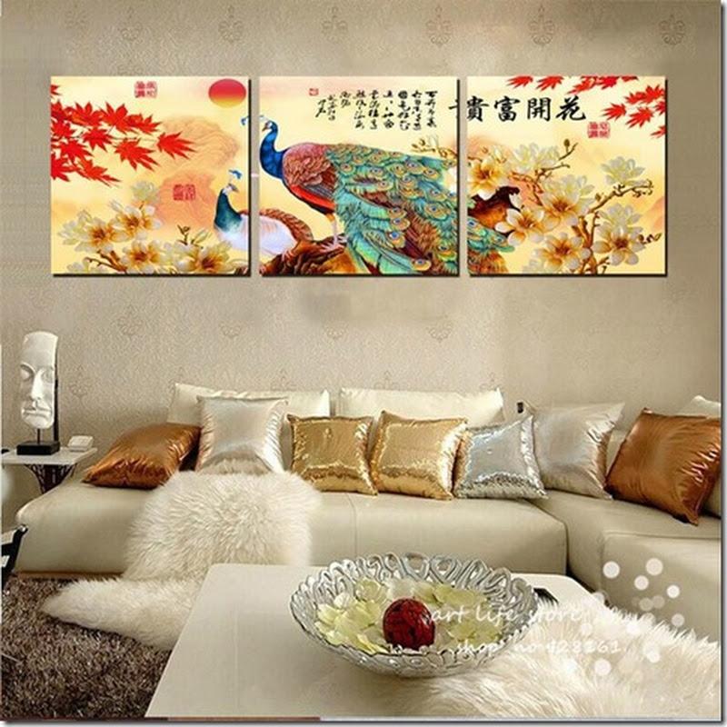 ภาพกรอบลอย ชื่อ ภาพนกยูง เสริม ฮวงจุ้ย มงคล โชคลาภ ความสวยงามแก่บ้าน 4