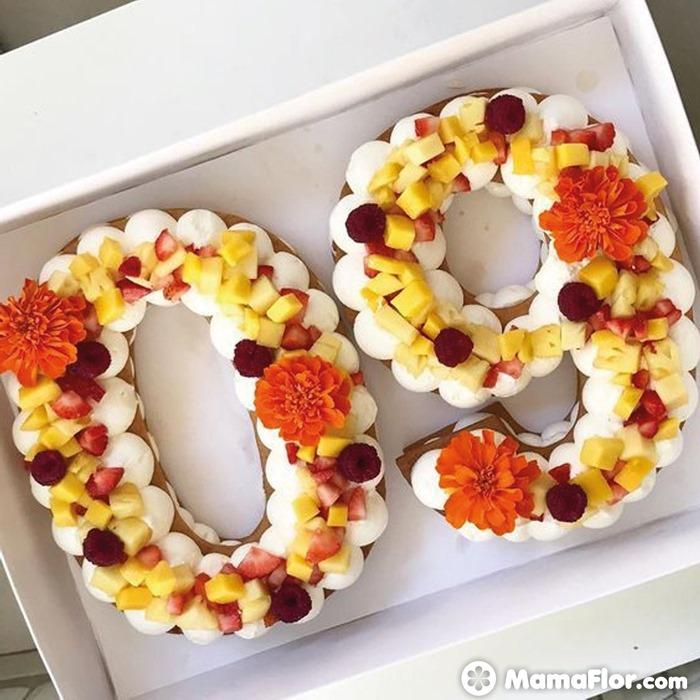 tortas con números 3
