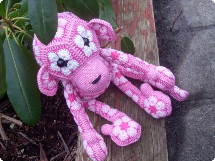 Viola - den lyserøde abe