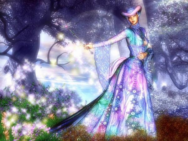 Magic Of Flowers, Magic And Spells