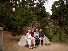 At the start of the 17 Mile Drive