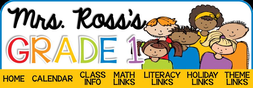 Mrs. Ross's Grade 1