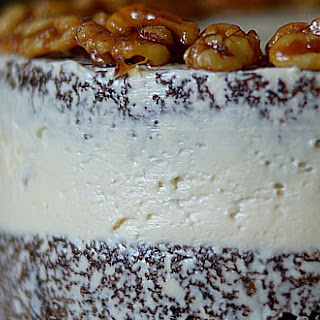 Maple Walnut Carrot Cake