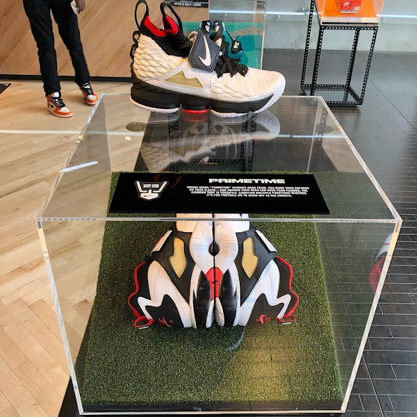 Meet 9 out of 10 LeBron Watch 15s at House of Hoops in Harlem NYC
