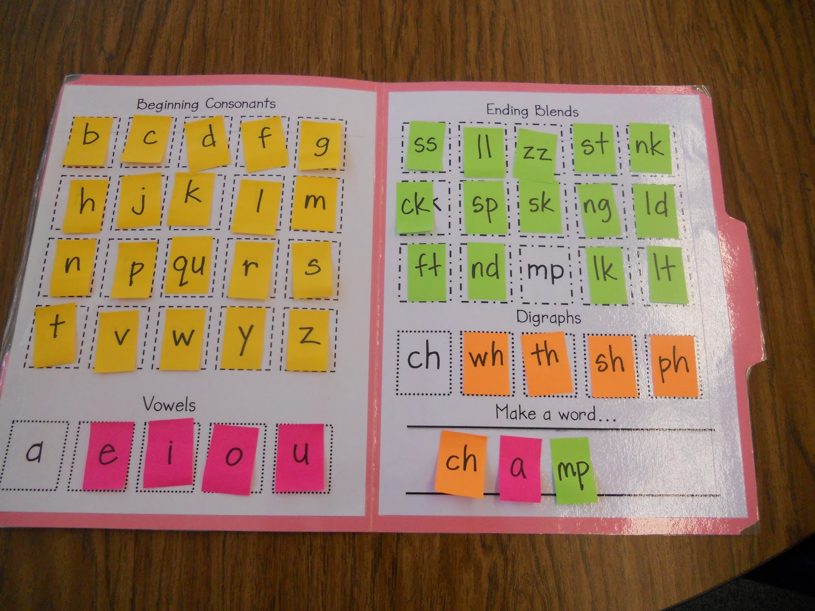Teacher Bits And Bobs Making Words