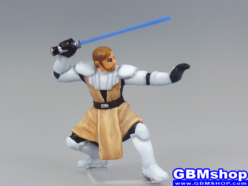 star wars miniature Imperial Assault Jedi General Obi-Wan Kenobi #1/6 Clone Wars Starter Custom Customize and Painting
