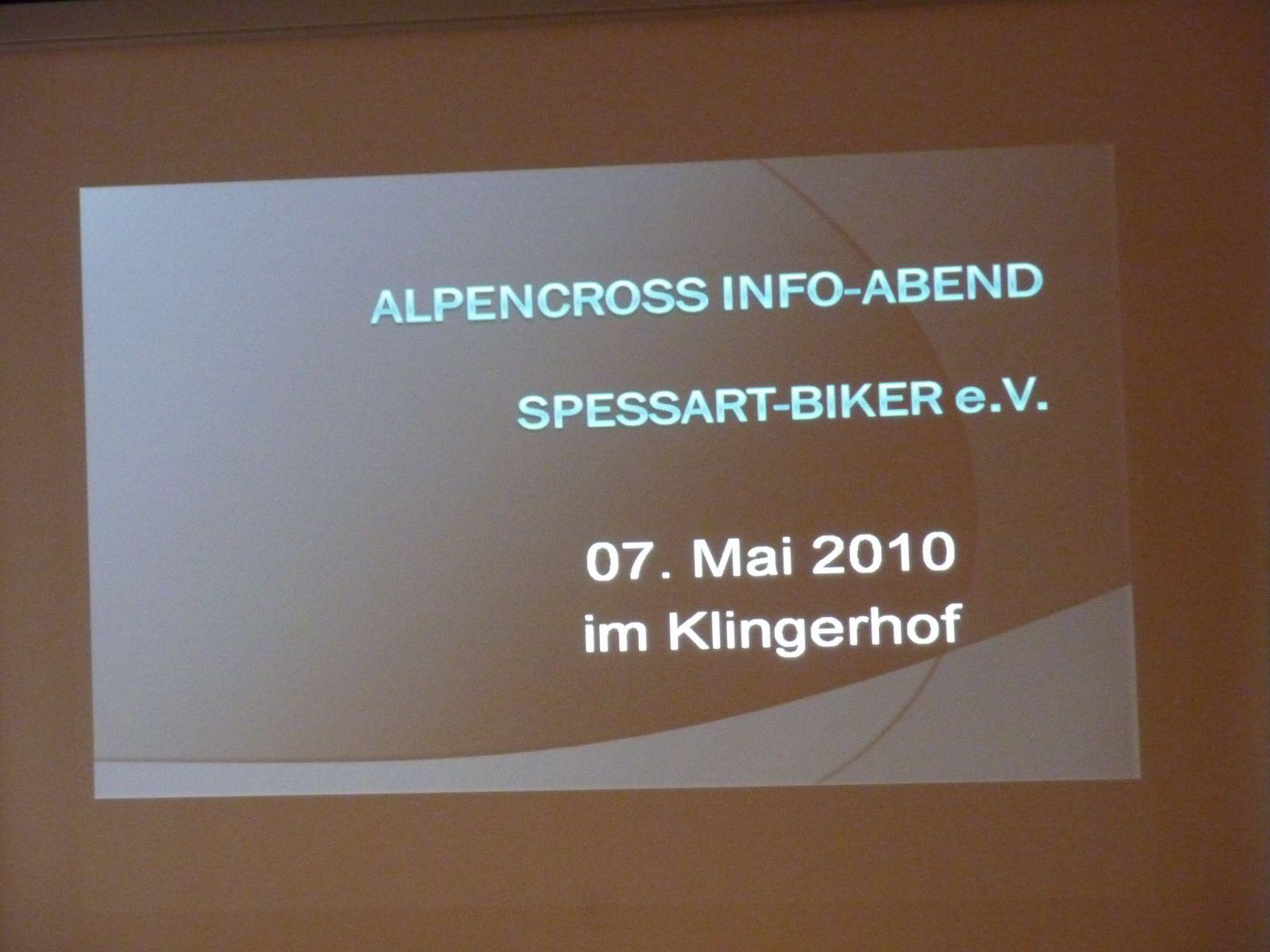 Der Alpencross Info-Abend im Hotel Klingerhof - ein voller Erfolg.