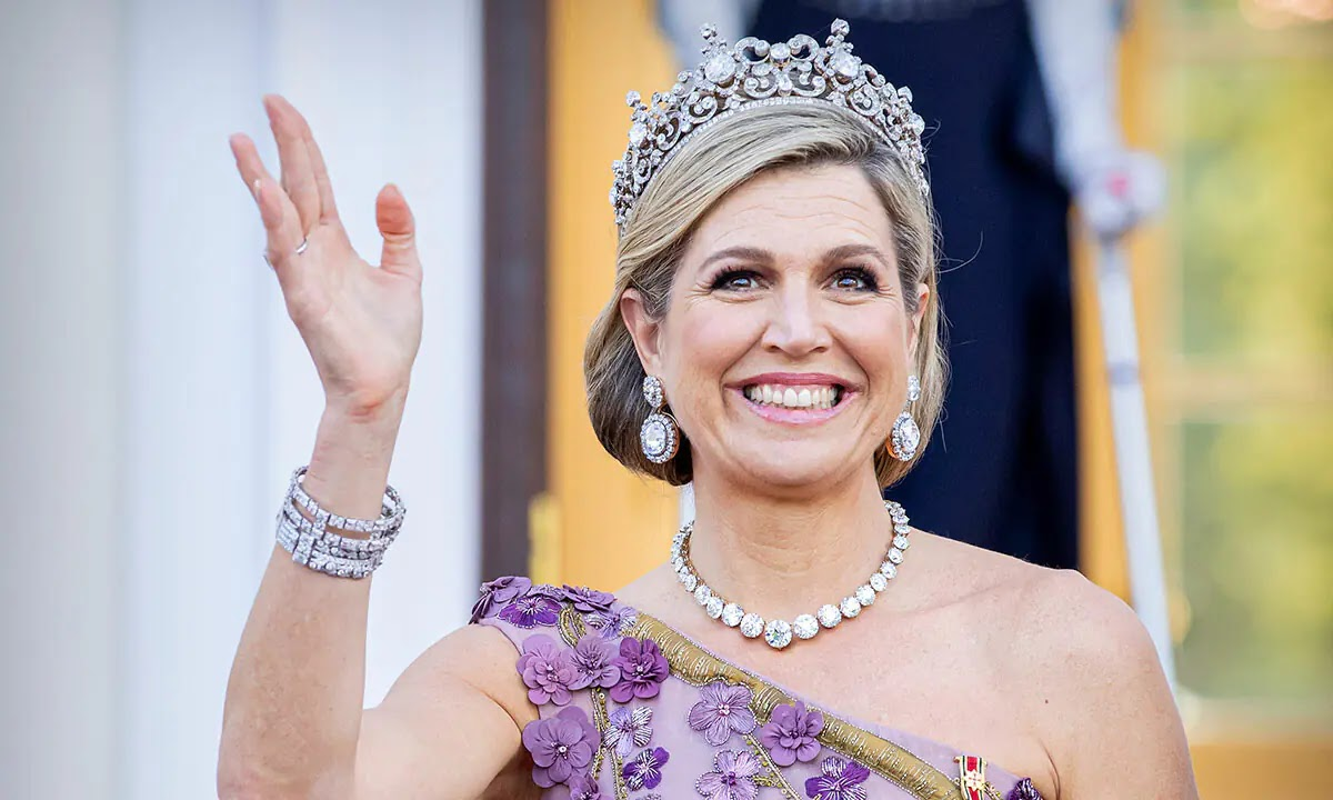 Queen Maxima Delivers the Royal Tiara Moment we've all Been Waiting For
