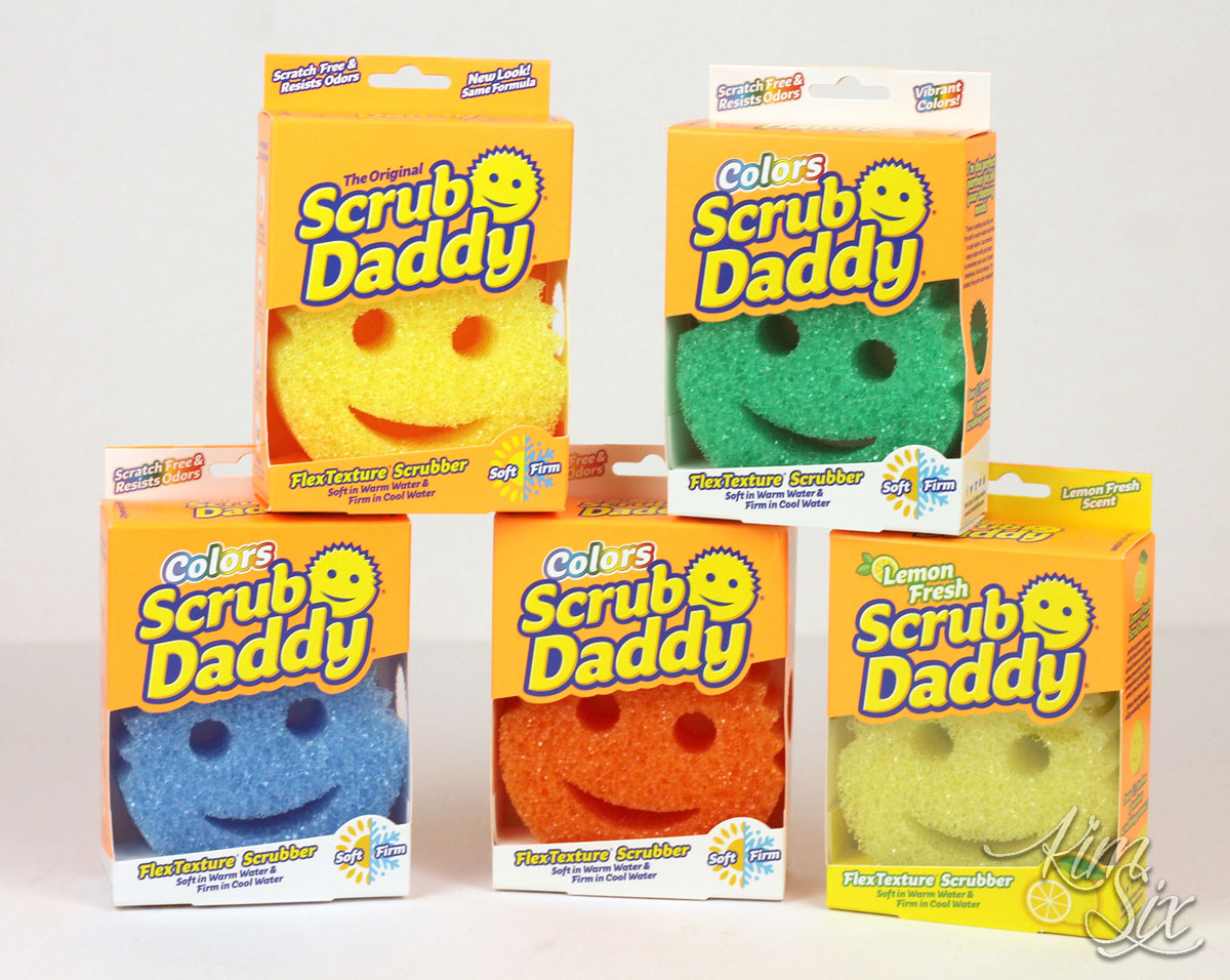 Scrub Daddy Line of Scrubbers