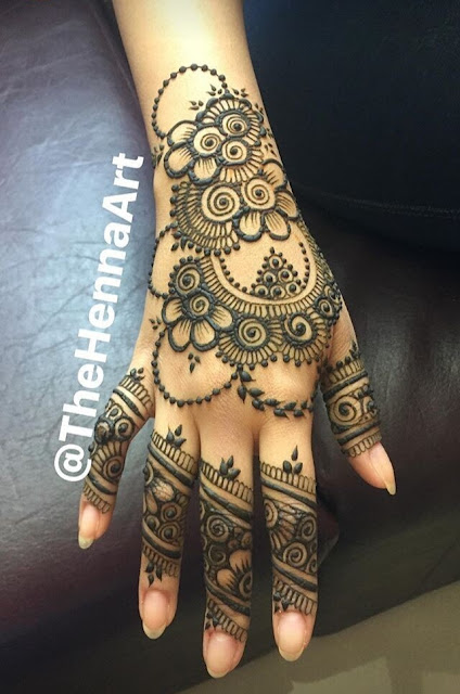 Awesome Latest Eid Mehndi Designs Collection 2018