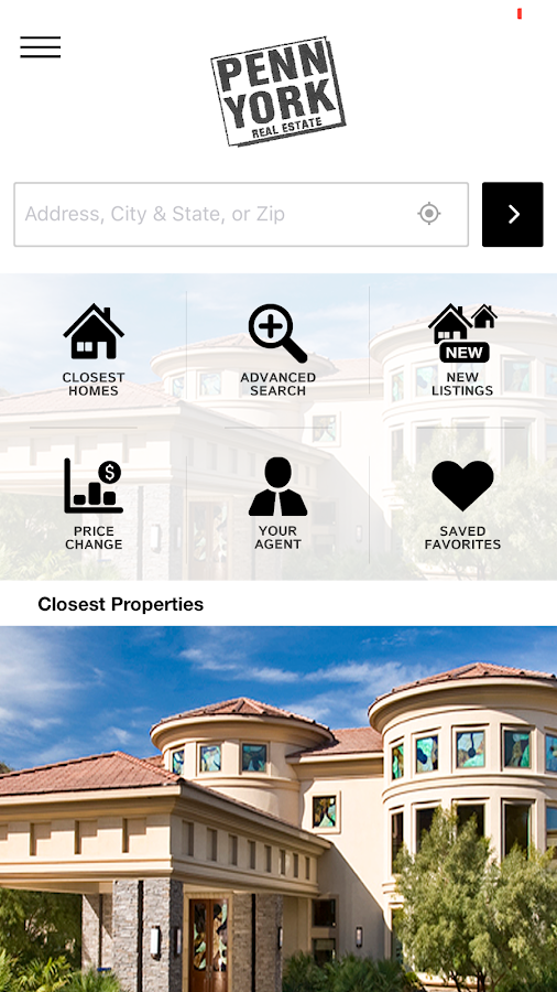 Penn-York Real Estate- screenshot