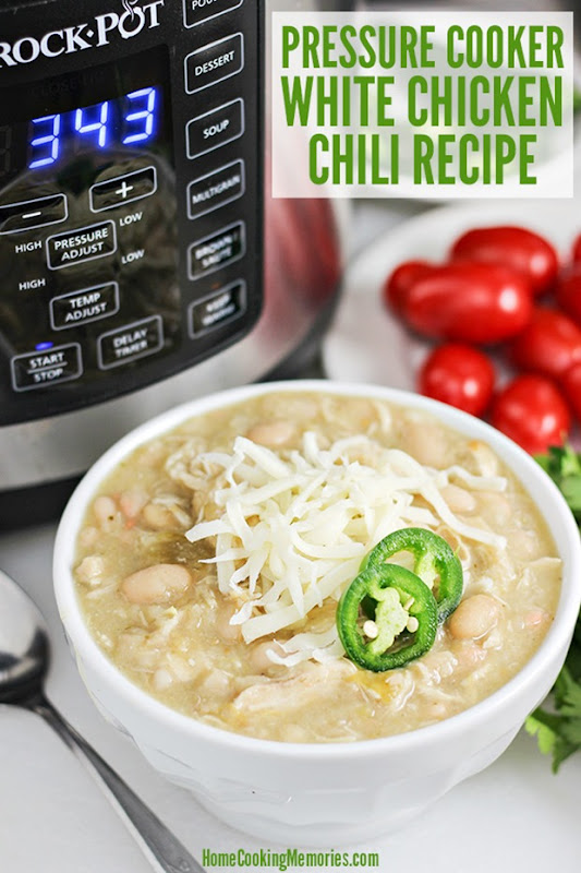 Easy-Pressure-Cooker-White-Chicken-Chili-Recipe-made-in-Crock-Pot-Express-Crock-Multi-Cooker