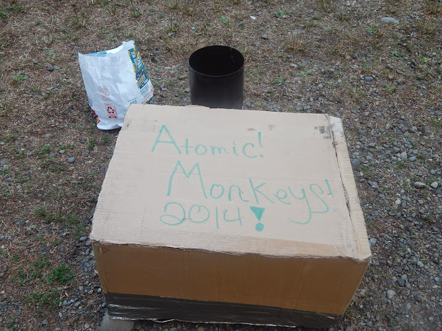 Atomic Monkeys Box Oven cooking Brussell Sprouts