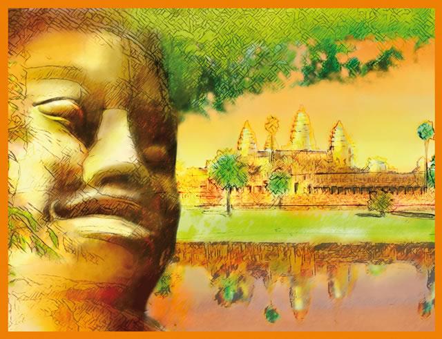 illustration Haudecoeur Riz cambodgien Angkor -Sans Exception