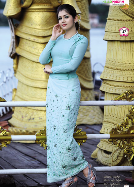 Myanmar Traditional Dresses For 2018 Fashionre