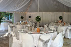 Marquee Tent with Banquet Rounds