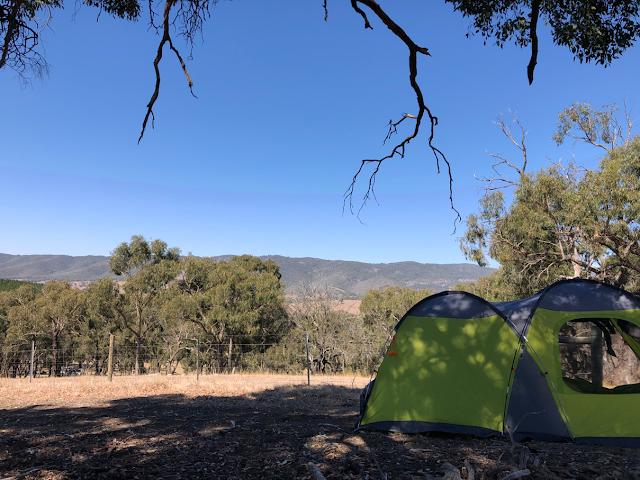Camping at seven hills Tallarook