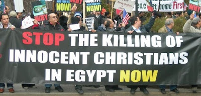 Egypt: terrorists kill four at Christian wedding; Muslim Brotherhood blames government