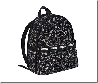 Peanuts X LeSportsac 7812 Basic Backpack 01