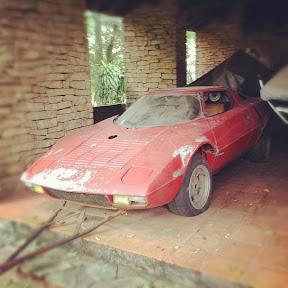 Abandoned Lancia Stratos