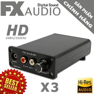 fx audio x3
