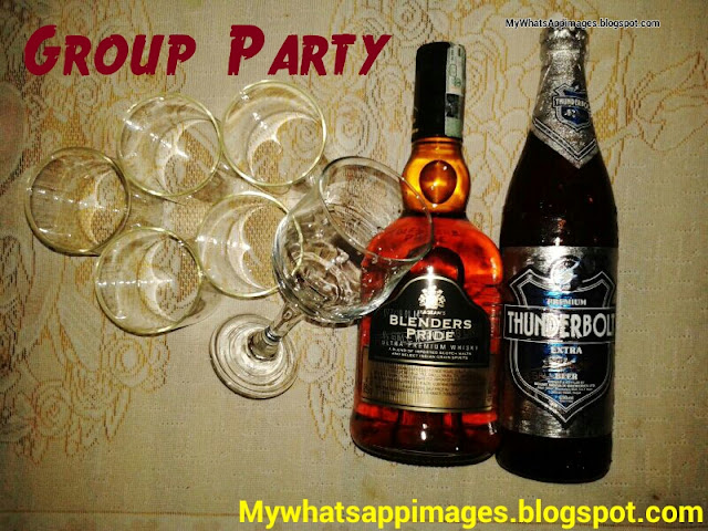 Whatsapp Group party image