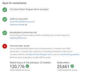 YouTube Partner Program is being held for additional review
