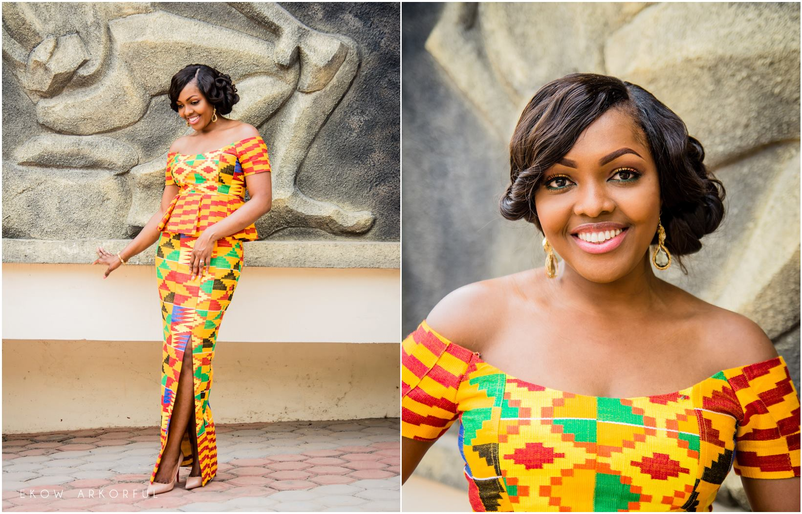 Latest Ghana Kente Dresses Styles 2017 ⋆ Fashiong4