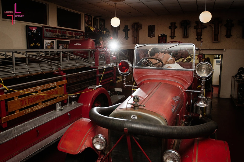 Firehouse Museum Wedding