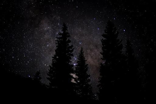 The Perseid Meteor Shower Over Colorado. Photographer Alex Berger