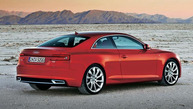 Новая Audi A5 появится в 2015 году