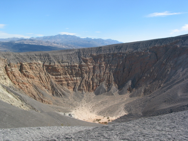 Death Valley Fall Double Century • Ubehebe Crater