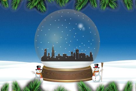 Chicago Snow Globe Live Wallpaper