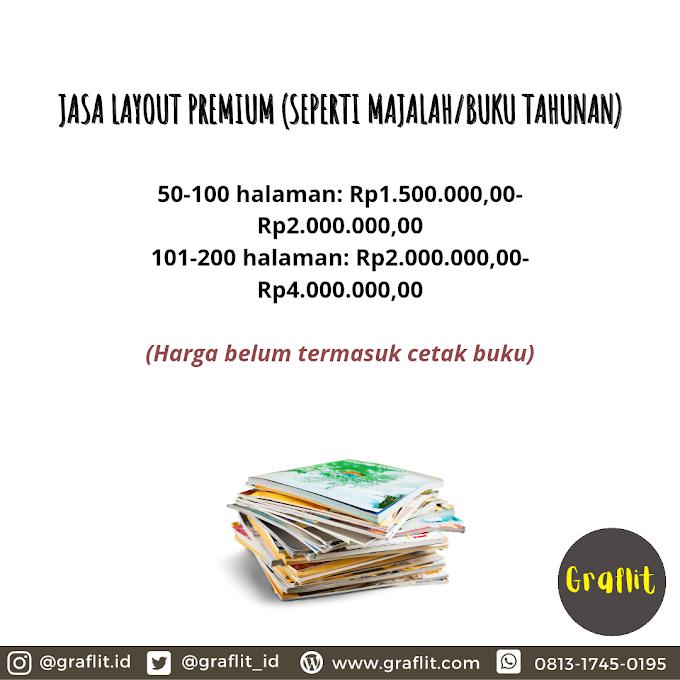 Jasa Layout Buku Premium (Majalah/Yearbook)