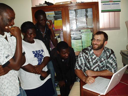 Crocodile Love: Unusual People Who Made Remarkable Trips. Josh Berman in Ghana