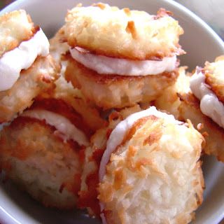 Coconut Cream-Filled Macaroons