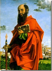 Saint Paul by Bartolomeo Montagna