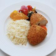 Chicken Kyiv Meal