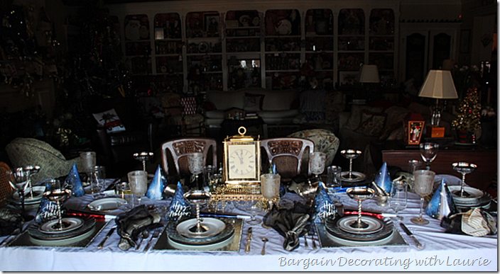 Tablescape for New Years